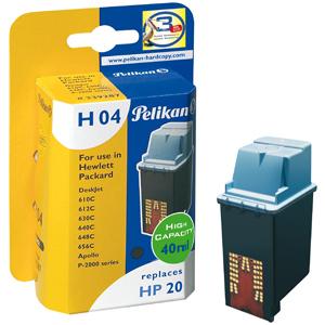 Pelikan HP DJ 610/HP20must tint H04(C6614D) EOL