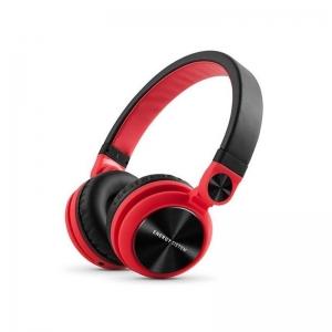 Kõrvaklapid kokkupandav DJ2, punane