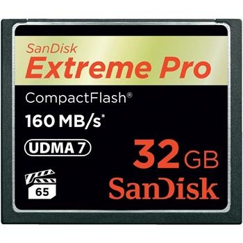 Sandisk Compact Flash Ext Pro 160MB/s 32GB