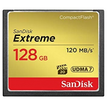 SanDisk Compact Flash Extreme 120MB/s 128GB
