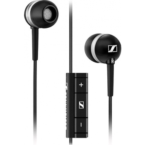 Sennheiser MM 30 nööpkõrvaklapid mikrofoniga Galaxyle, Mustad TELL