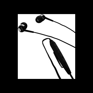 Sennheiser MM 50 nööpkõrvaklapid mikrofoniga Nokiale, Must EOL
