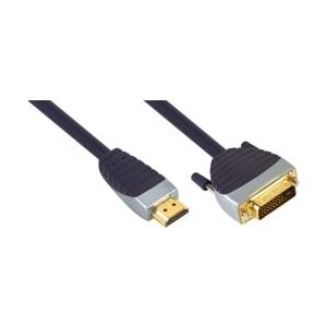 Premium SVL1110 HDMI otsik - DVI-D otsik 10.0m EOL