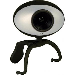Sweex veebikaamera 0,3MP must/hõbe EOL