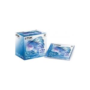 TDK DVD+R 4,7Gb/16X jewel 1tk. EOL
