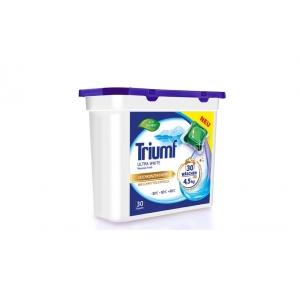 Triumf White kapslid valgele pesule 30 tk