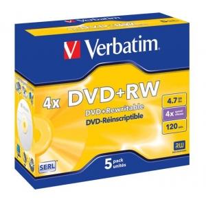 Verbatim DVD+RW 4,7GB 4x jewel EOL