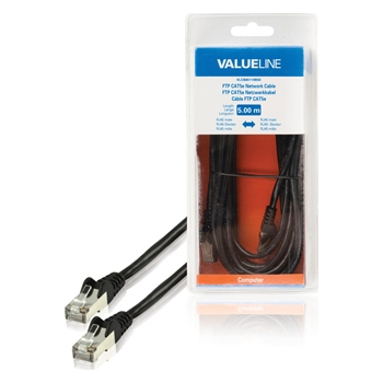Valueline VLCB85110B50 FTP Cat5e RJ45-RJ45, must, 5m