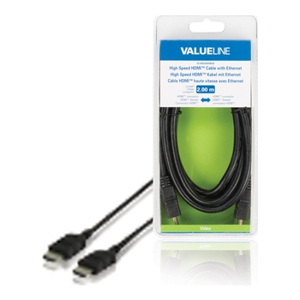 Valueline VLVB34000B20 HDMI A otsik - otsik 1.4 2m