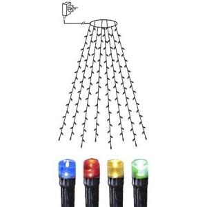 Tulederõngas 160 värvilise LED tulega, 8 sektsiooni pikkusega 2m, IP 44, toitekaabli pikkus 5m.