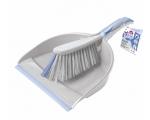 Brush + shovel (rubber edge) BACTERIA STOP