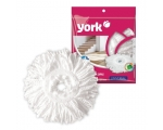 Mop round, universal for white rotating mop, Rotary MOP YORK PRESTIGE