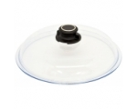 Glass lid with ventilation knob 36cm