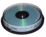VERBATIM DVD+R 4,7GB/16x 10-torn scratch