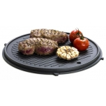 Grillplaat 2in1, 30cm valuraud, Dangrill Grill Flex