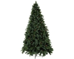 Artificial spruce Toronto 300x170cm green with cones