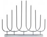 Advendiküünal Novum hõbedane, 10LED, voolutoide, IP20