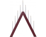 Advendiküünal Jazz punane, 9LED, voolutoide, IP20