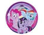 My Little Pony Rainbow Plates 23cm 8pcs / pk