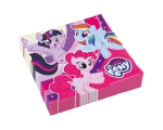 My Little Pony Rainbow Napkins 33x33cm 20pcs / pack