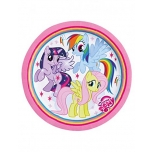 My Little Pony Rainbow Taldrikud 23cm 8tk/pk