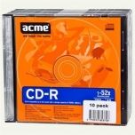 ACME CD-R 700MB 52x Slim 1tk.