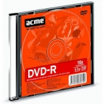 ACME DVD-R 4,7GB/16x slim 1tk.