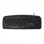ACME KM09 Multimedia Keyboard /EN/RU/LT /Grey