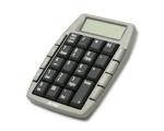 ACME numbriklaviatuur KN02 kalkulaatoriga hõbe EOL