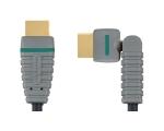 Bandridge BVL1801 HDMI 1.4 A otsik - otsik 360° 1m