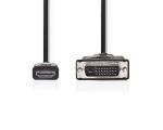Videokaabel HDMI M - DVI-D (24+1) M, 3m, must