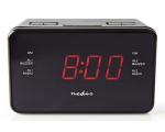 Radio Nedis, LED display, black