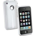 Cellular iPhone 4 case + screen, Shocking, white EOL