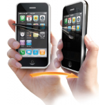 Cellular iPhone 4 / 4S screen protector, private