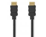 Cable nedis HDMI A connector - HDMI A connector, 4K @ 30Hz, 15m