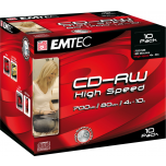 EMTEC CD-RW 700MB/10x 1tk.Jewel EOL