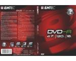 EMTEC DVD-R 4,7GB/16x DVD-karp EOL