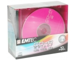 EMTEC DVD-R 4,7GB 16x slim 10pk värvilised EOL