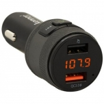 FM-transmitter Bluetooth, Hands-Free, USB