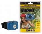 LED pealamp 3XAAA, 3W, 120lm