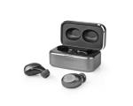 Juhtmevabad kõrvaklapid, Fully Wireless, Bluetooth, hall/hõbe