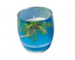 Lõhnasteariinküünal dek.klaasis,Bahama B EOL