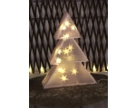 3D spruce 16 LED, 25x35x10cm, warm white, timer (6 + 18h cycle), battery powered (3xAA, not included), IP20