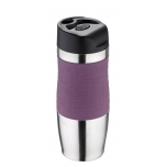 Termokruus 400ml rv Purple-silikoonkattega,