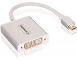 Profigold PROM252 Adapter MAC Mini DP otsik - DVI-D pesa, 0,2m