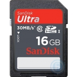 SanDisk Ultra SDHC 16GB 30MB/s Class 10 EOL
