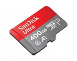 Mälukaart Secure Digital micro Ultra Android 400GB + SD adapter 120MB/s A1/Class 10/UHS-I