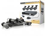 König turvasüsteem 4 kaamerat ja salvestuskeskus, 15M, IP66, 500GB TELL