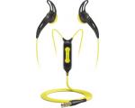 Sennheiser MX680i higi- ja veekindlad nööpkõrvaklapid sportimiseks must/kollane EOL