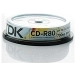 TDK CD-R 52x 80min/700MB 10-torn